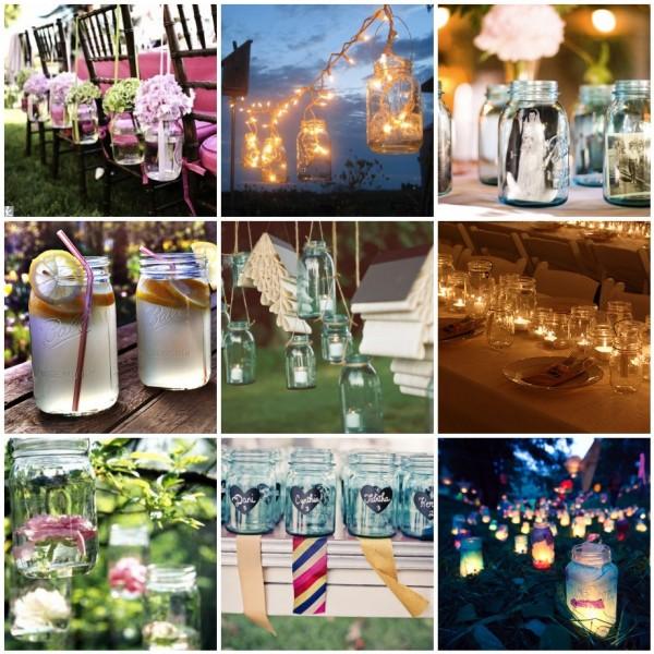 Mason Jar Wedding Decorating Ideas: Event Solutions, Mason Jar Wedding Decor, Wedding Planners