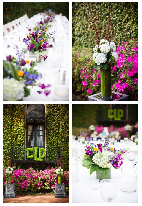 floral tips from Christie & David's wedding