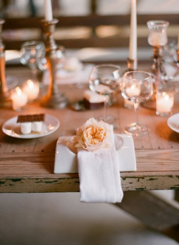 SMP peony place setting