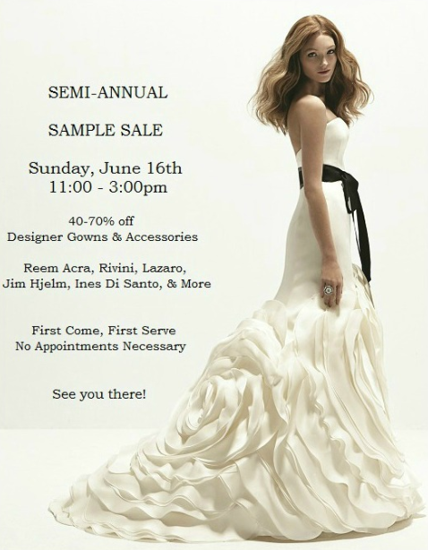 Ivory Bridal Atelier, Bridal Salon, Wedding Gowns, Sample Sale