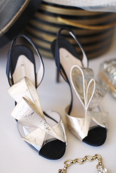 Art Deco-Inspired Shoes