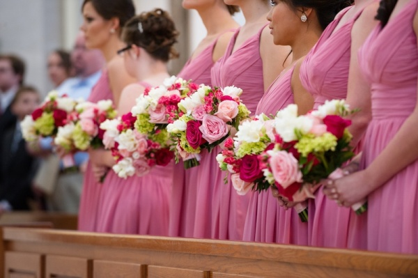 Kimberly's Bridesmaid Bouquets