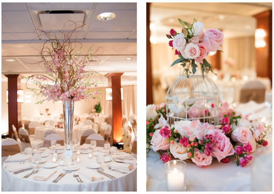 Kimberly's Tall & Low Centerpieces