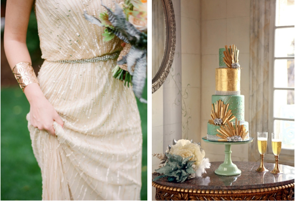 Art Deco Wedding Inspirations