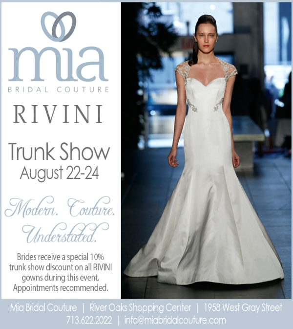 Rivini Trunk Show at Mia Bridal Couture