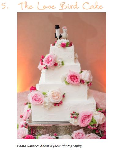 The Lovebird Cake