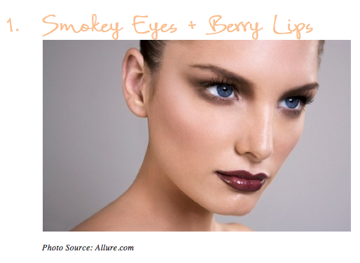 Smokey Eye + Berry Lip